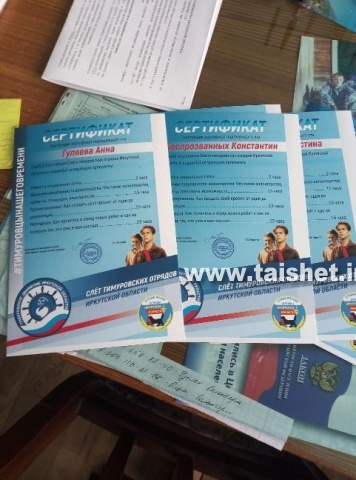 Тимуровцы Тайшетского района вошли в число победителей тимуровских отрядов Иркутской области