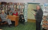 На встрече в Межпоселенческой центральной библиотеке