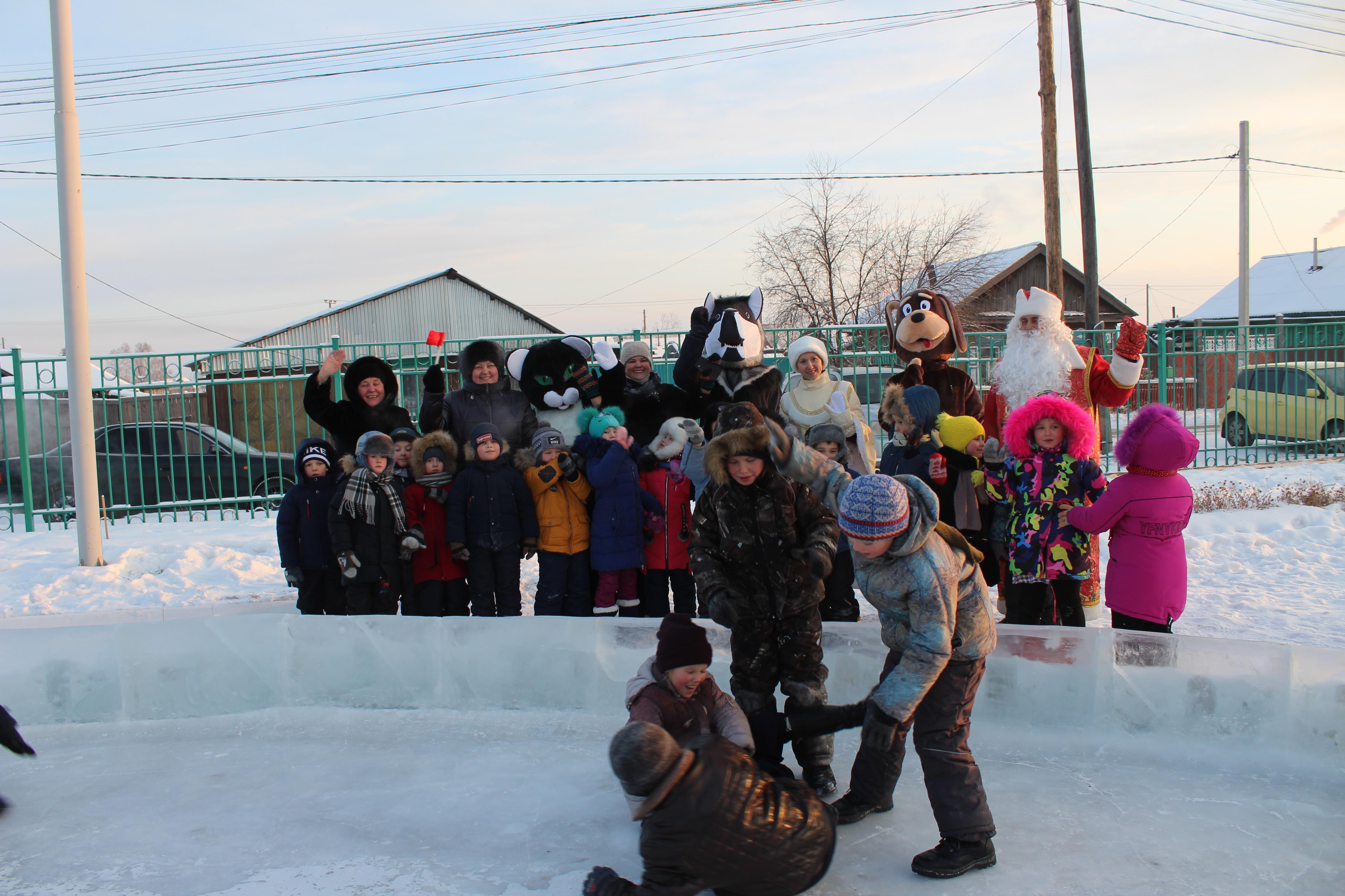 Новогоднее настроение. Открытие ледового городка
