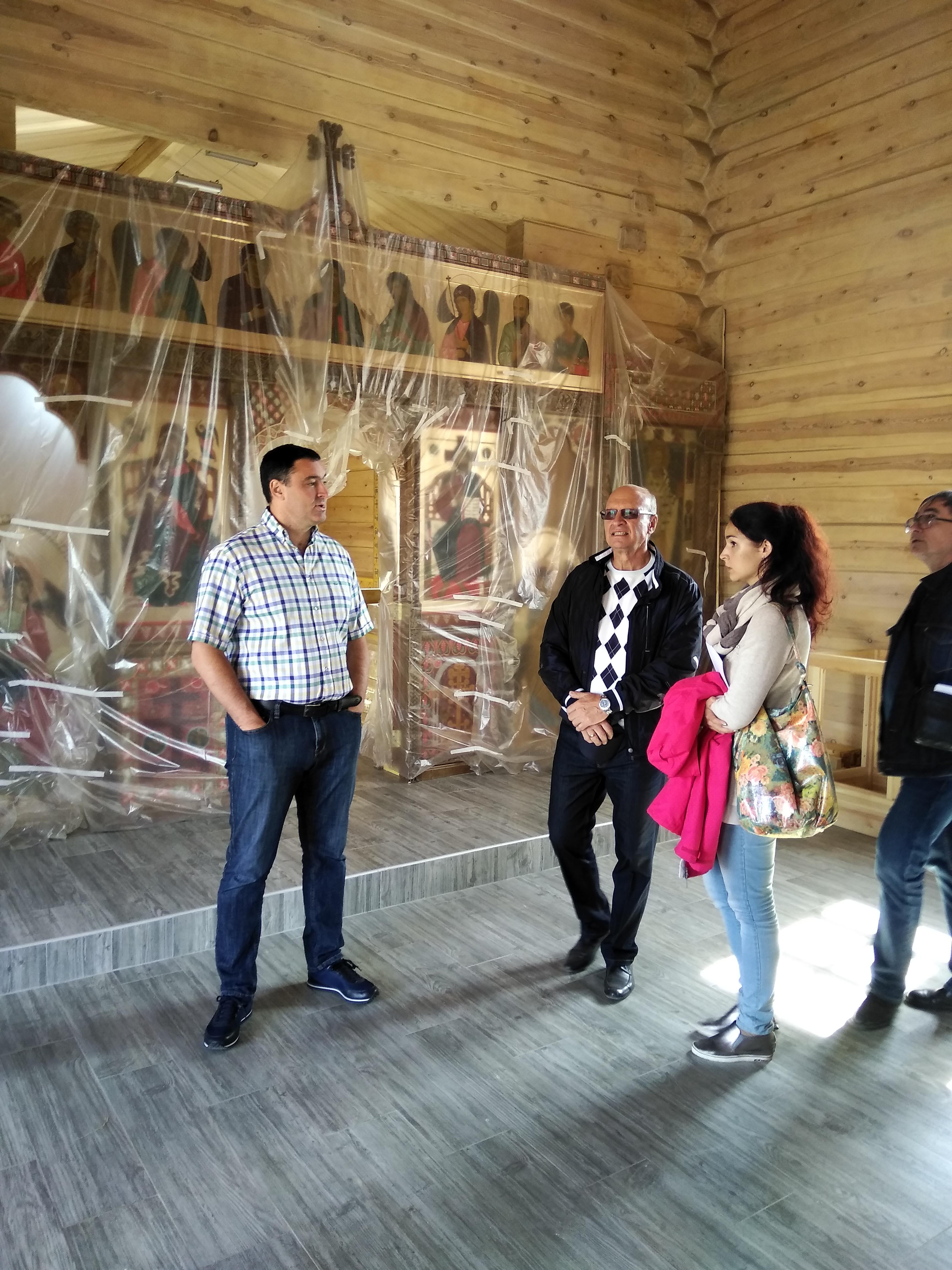 С рабочим визитом в Анге побывал исполняющий обязанности первого заместителя  губернатора Иркутской области Руслан Болотов