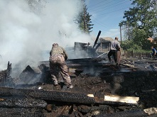«Сообщает служба 01» За 1 полугодие 2018 года 75 % пожаров в Куйтунском районе произошло на объектах жилого сектора.