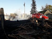 «Сообщает служба 01» Летом на территории Куйтунского района произошло 13 пожаров.