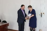 9) награждение МКОУ СОШ №3 г.Киренска