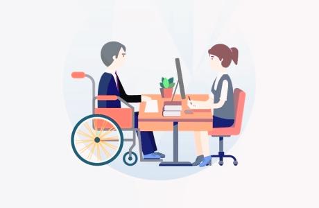 Профессиональное обучение для инвалидов