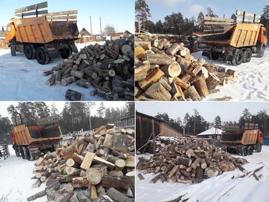 Жителям подтопленных территорий района начали развозить дрова