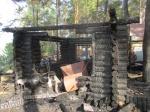Пожар с пострадавшим