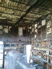 В августе-сентябре горели магазины и сеновалы
