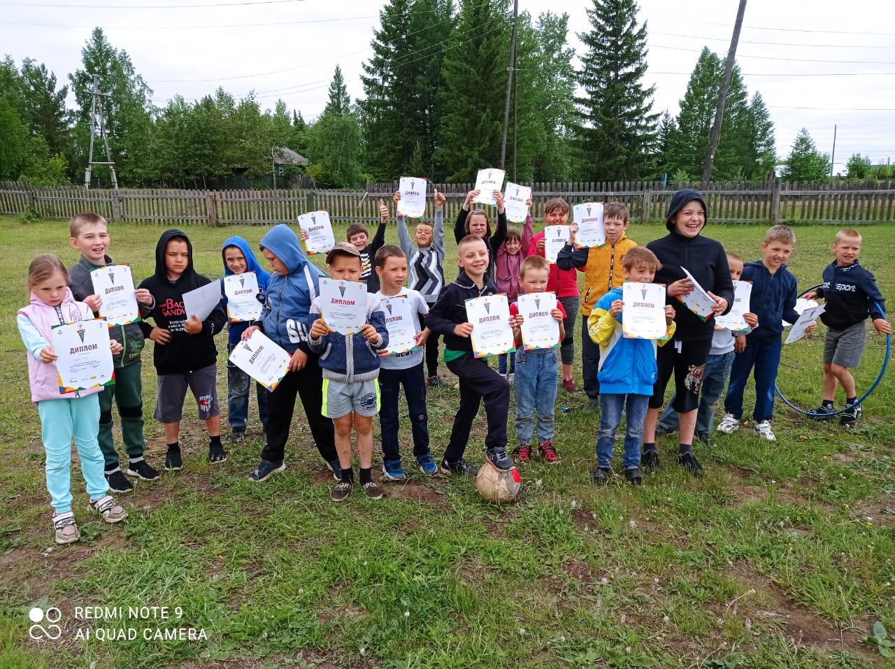 Всероссийский олимпийский день прошел в Усть-Илимском районе
