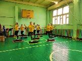 Разминка фитнес клуб Цитрус