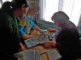 Знакомство с личным архивом жительницы п.Бадарминск