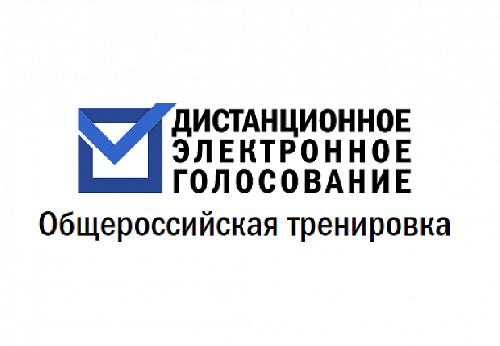 Центральной избирательной комиссией Российской Федерации проводится общероссийская тренировка