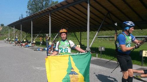 Нижнеилимский флаг был поднят на Чемпионате России по биатлону