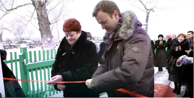 03.02.2015 Открытие детского сада в деревне Петровка
