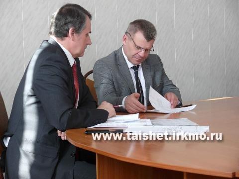 Мэр Тайшетского района  провел первое в этом  году планерное совещание