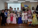 Первоклассники учебного корпуса п.Железнодорожный и их преподаватели