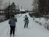 соревнования по лыжным гонкам п.Эдучанка