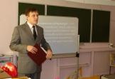 Лобков А.В. проводит лекцию «Молодежная субкультура как форма сознания» в р.п. Железнодорожный.
