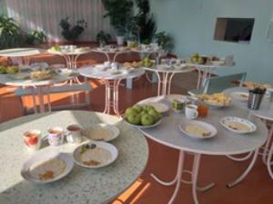 Ученики начальной школы питаются бесплатно