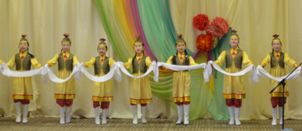 Народный хореографический ансамбль «Бусинка»