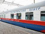 Медицинский поезд «Федор Углов» будет проводить бесплатную вакцинацию от COVID-19