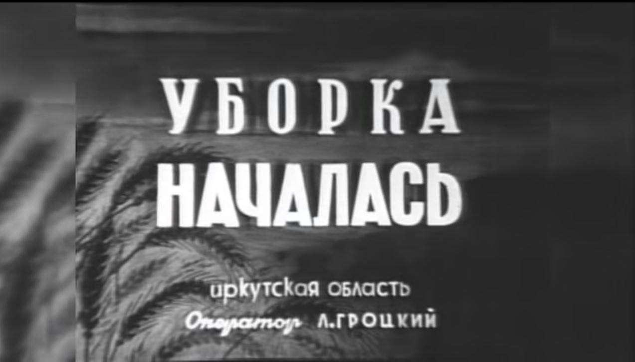 25.01.2016 Черемховский район, Уборка началась, август 1948.