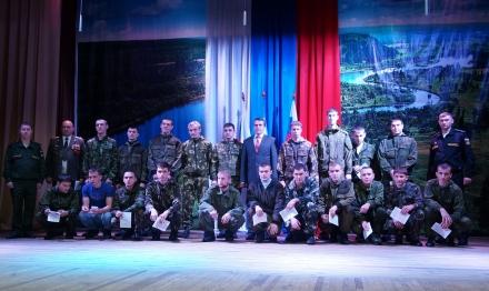 В Тайшетском районе прошел День призывника, посвященный осеннему призыву