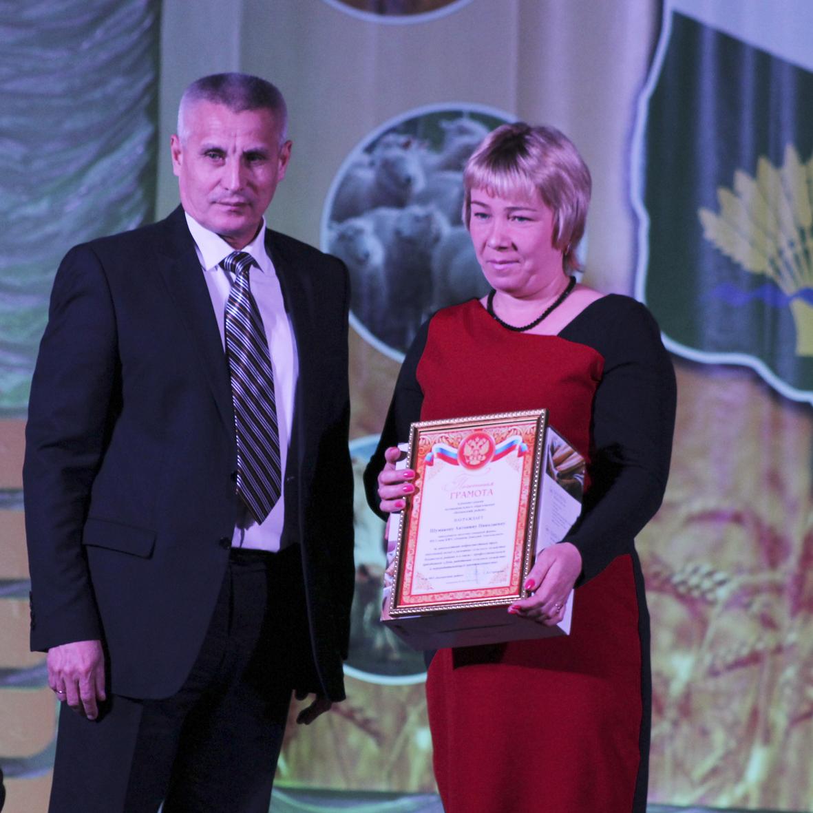 Работников сельского хозяйства и перерабатывающей промышленности поздравили с профессиональным праздниоком