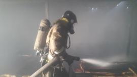 Ночью на БАМе горел жилой дом
