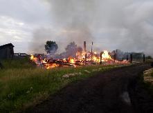 «Сообщает служба 01» Причинами 10 пожаров в июле явились поджоги и неисправность электрооборудования.