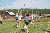 Волейбол команды Молодежный и Юность