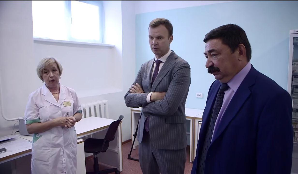 25.07.2016 Всего три в регионе!!! Жители Черемховского района получили новый анализатор!!!