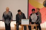 выступление команды «Переплёт» Ершовского муниципального образования
