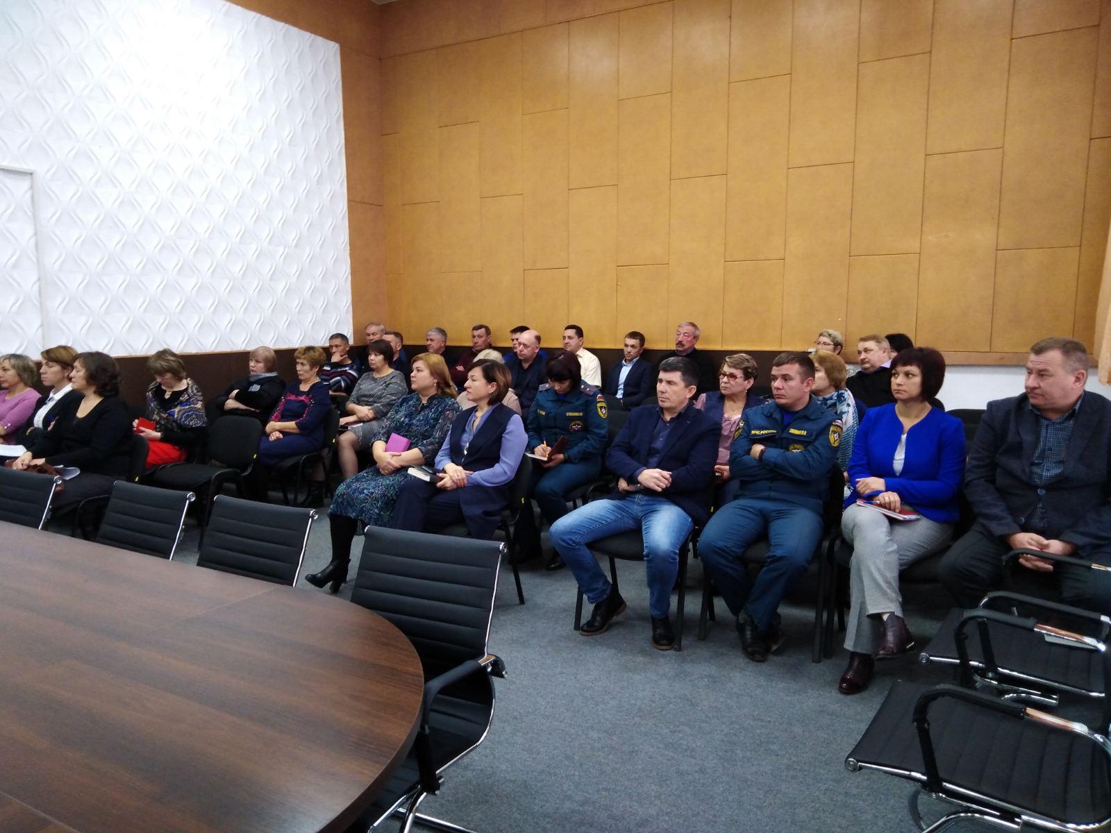 Межведомственное планерное заседание руководителей организаций и учреждений района