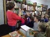 Экскурсия в Межпоселенческой библиотеке