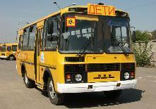 Маршруты школьных автобусов.