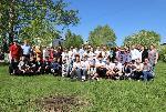 Акция «Сад Памяти» прошла четвертого июня в школе № 3 поселка Михайловка