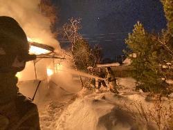 Обстановка с пожарами в выходные дни на территории Иркутской области