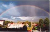 Сияние двойной радуги фото Л. Вертегел номинация Моя малая родина