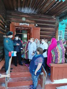 Практическая отработка плана эвакуации в Барлукской участковой больнице ОГБУЗ «Куйтунская РБ»