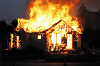 В Чунском сгорел третий за неделю жилой дом
