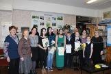 участники литературно-поэтического конкурса в Железнодорожной библиотеке