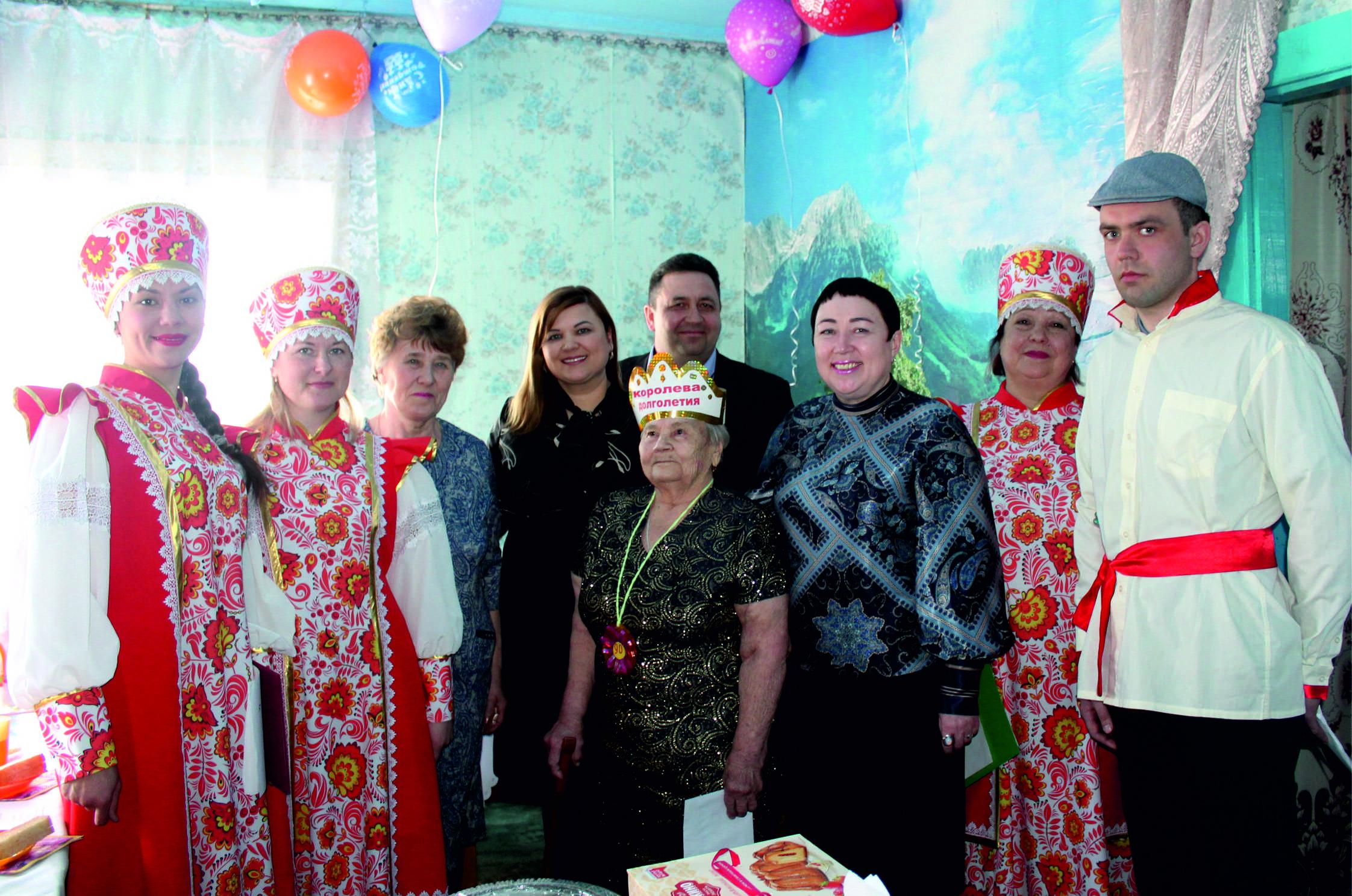 Поздравляем с Юбилеем Марию Александровну Алексееву!