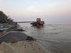 В Лесогорске началось берегоукрепление