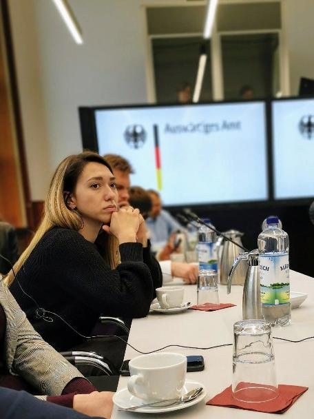 Российская молодежь побывала в Берлине