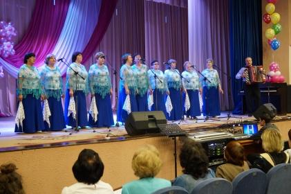 Вокальный ансамбль «Грустиночка» отметил свой  10-летний юбилей