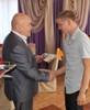 Мэр района провел прием для выпускников школы-интерната