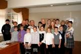 Жители р.п. Железнодорожный на встрече с В. Корниловым и В. Скурихиным