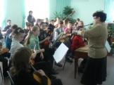 репетиция с составом старшего оркестра
