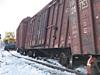 В Таргизе вагон сошел с рельсов и загорелся