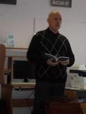 Мирошников читает свои стихи